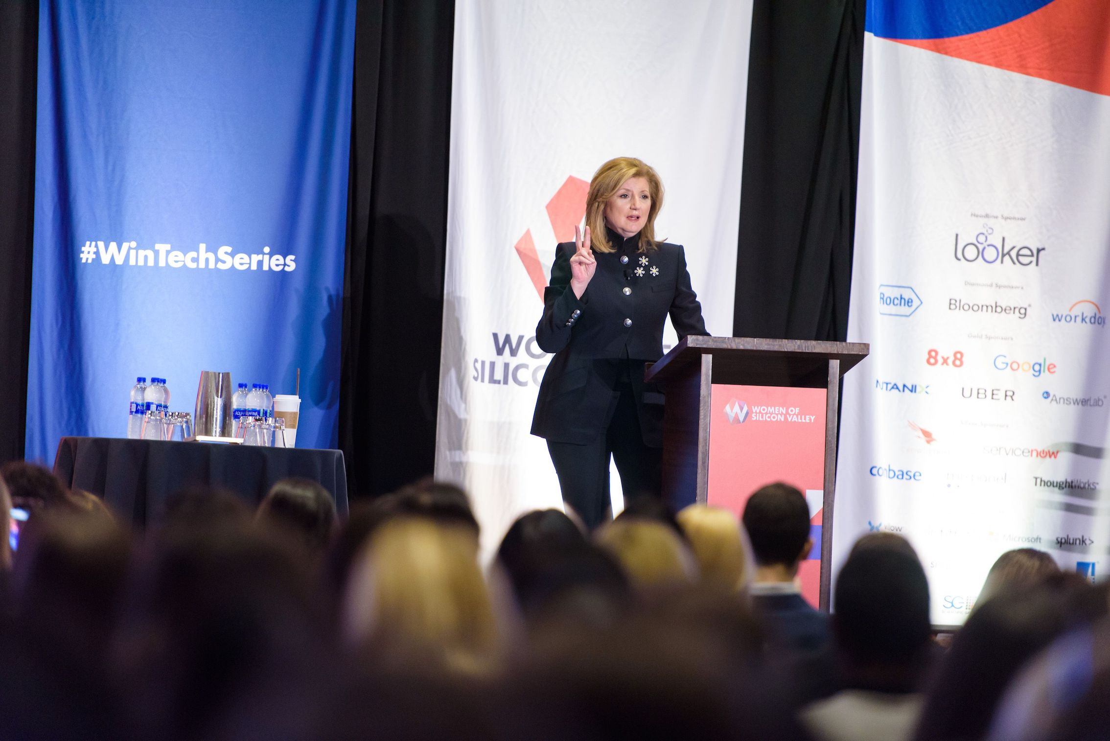 Arianna Huffington Women of Silicon Valley