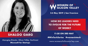 Speaker Spotlight: Q&A with Shaloo Garg, Managing Director, Silicon Valley, Southwest @ Microsoft for Startups